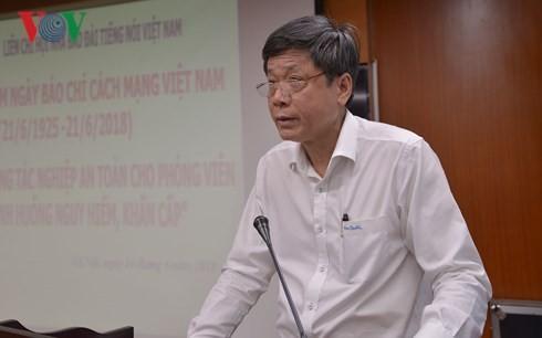 VOV celebrates Vietnam's Revolutionary Press Day - ảnh 1