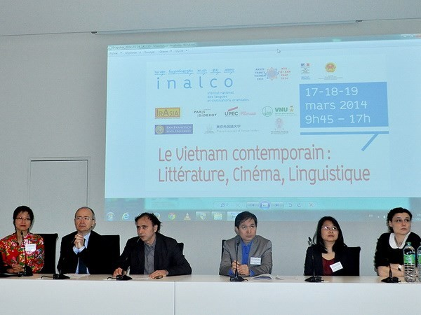 Paris workshop highlights Vietnamese literature, cinematography - ảnh 1