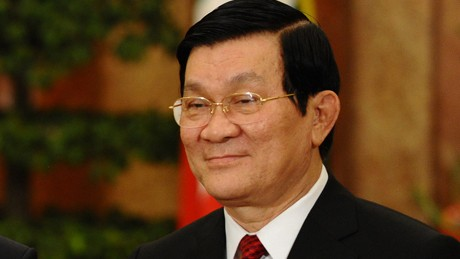 President receives Nikkei Group President - ảnh 1