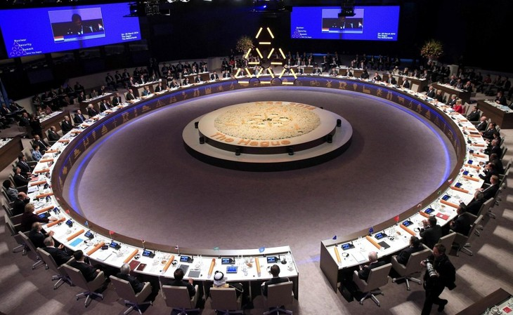 35 countries pledge to foster nuclear security - ảnh 1