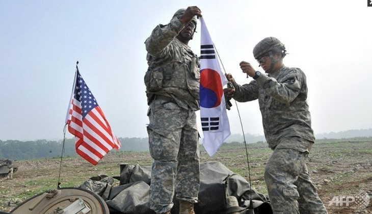 South Korea, US launch massive landing drill - ảnh 1