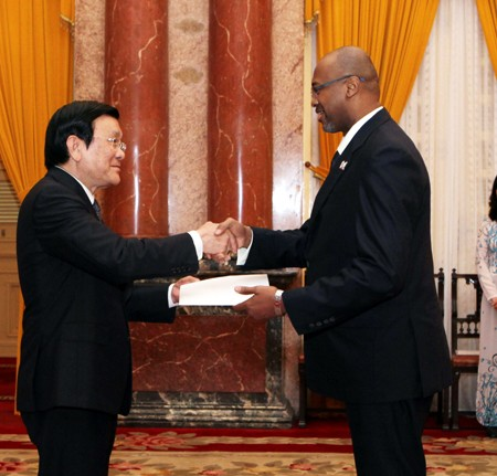 Vietnam to create favourable conditions for ambassadors fulfilling their duties - ảnh 1