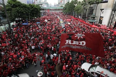 """Thai army releases """"Red shirt"""" protest leaders - ảnh 1"""