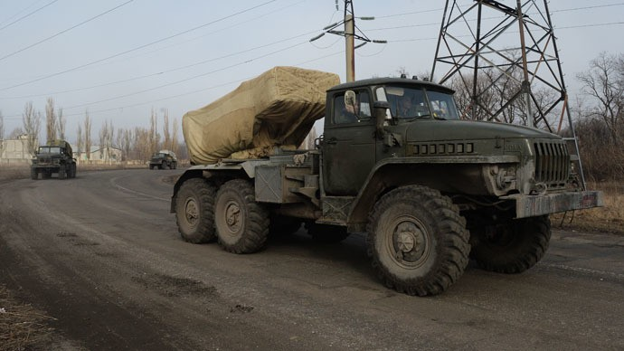 Ukraine rebels announce complete heavy weapons withdrawal - ảnh 1