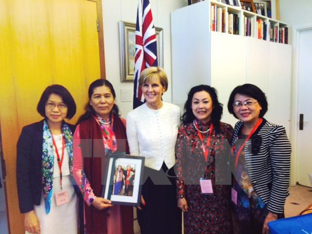 Vietnam learns from Australia's experience in protecting women's rights - ảnh 1