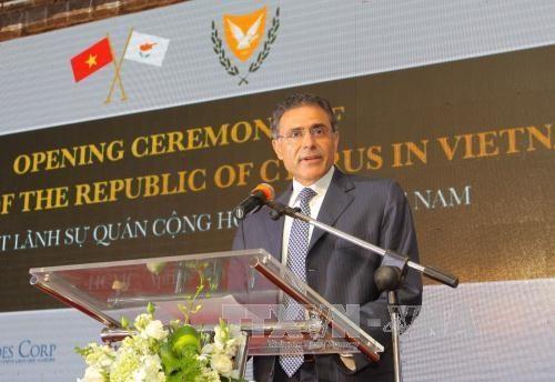 Cyprus opens consulate in Vietnam - ảnh 1