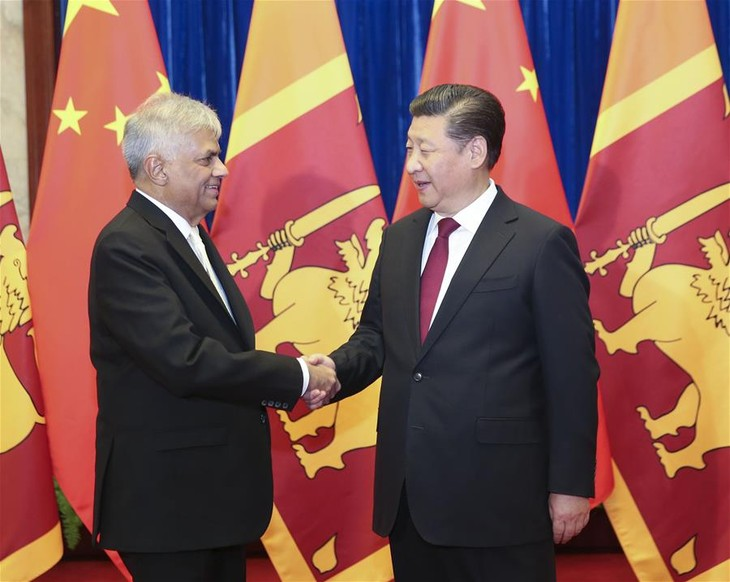 China, Sri Lanka issue joint statement on cooperation - ảnh 1