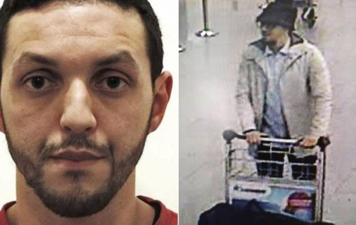 Mohamed Abrini admits staying behind Brussels airport bombing - ảnh 1