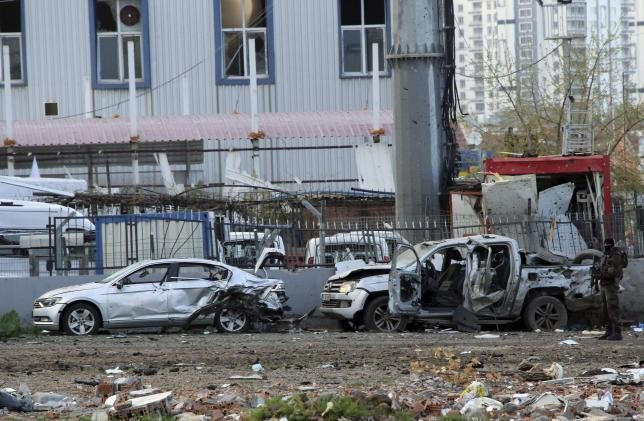 Car bomb hit southeastern Turkey - ảnh 1