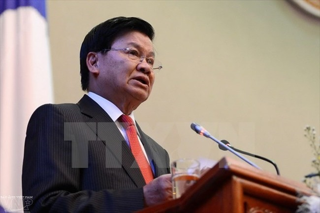 Lao Prime Minister visits Vietnam to boost all-round cooperation - ảnh 1
