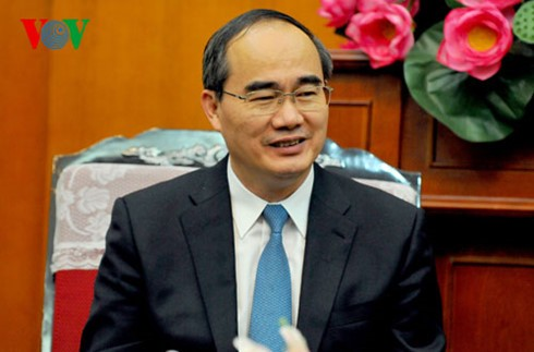 President of Vietnam Fatherland Front Central Committee visits South Korea  - ảnh 1