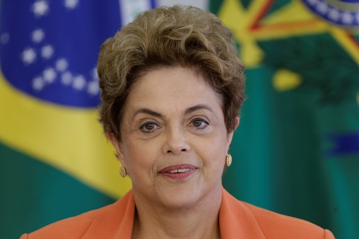 Brazilian President pledges to defend justice and democracy - ảnh 1