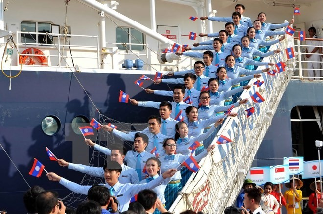 ASEAN-Japan youth ship to dock at Ho Chi Minh City - ảnh 1