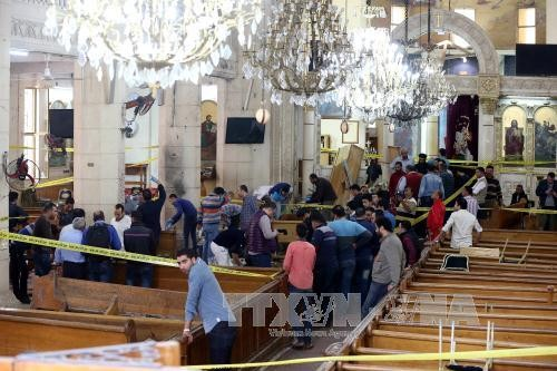 Egypt declares 3-day mourning for victims of Sunday church bombings - ảnh 1