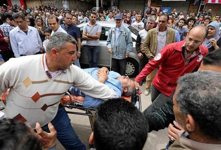 World denounces terrorist attacks in Egypt - ảnh 1