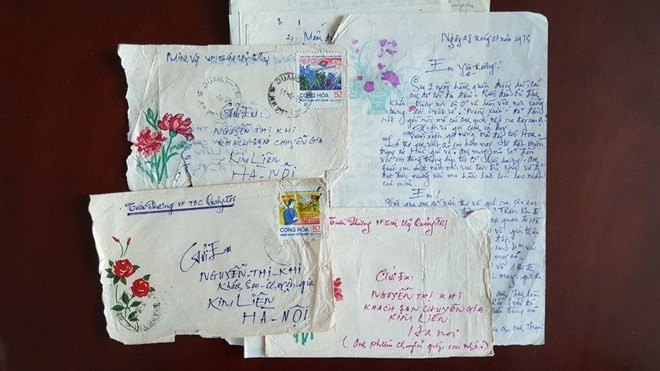 War letters illustrate Vietnamese people's aspiration for peace - ảnh 2