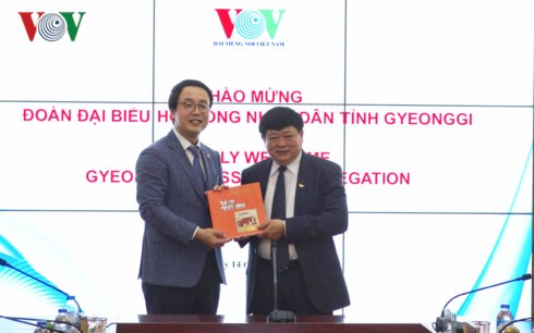 VOV, South  Korea's Gyeonggi province strengthen cooperation - ảnh 1
