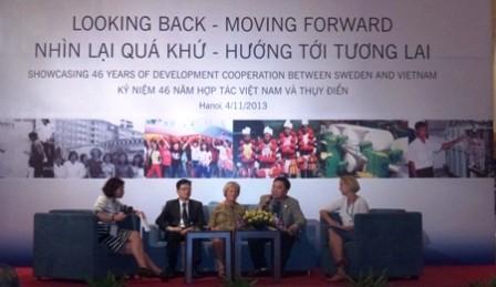 Vietnam y Suecia conmemoran 46 años de cooperación para el desarrollo  - ảnh 1