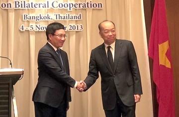 Culmina sesión del Comité de cooperación Vietnam-Tailandia - ảnh 1