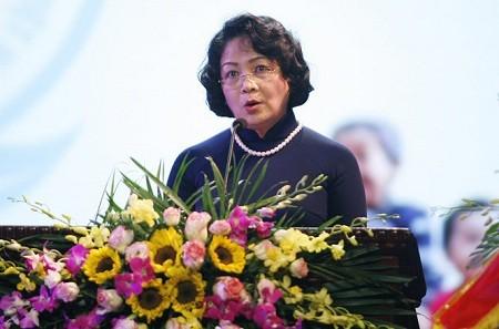 Conmemoran XXV aniversario del Fondo Nacional de Patrocinio Infantil de Vietnam  - ảnh 1