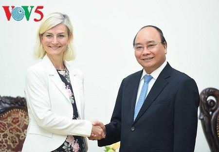 Vietnam y Dinamarca fortalecen cooperación inversionista y comercial  - ảnh 1