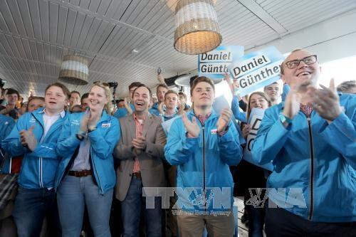 Partido de Merkel gana elecciones federales en el estado de Schleswig-Holstein - ảnh 1