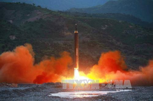 ONU convoca a reunión urgente después de un nuevo ensayo de misil norcoreano  - ảnh 1
