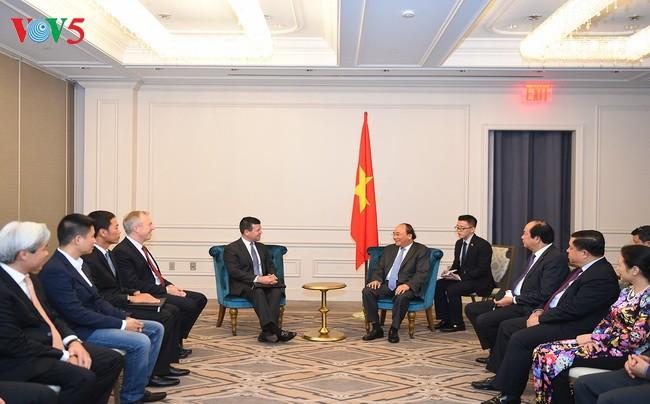 Premier vietnamita apoya una mayor cooperación entre empresas nacionales y Nasdaq - ảnh 1