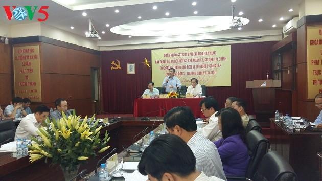 Vietnam potencia la eficiencia operativa de los centros de capacitación vocacional  - ảnh 1