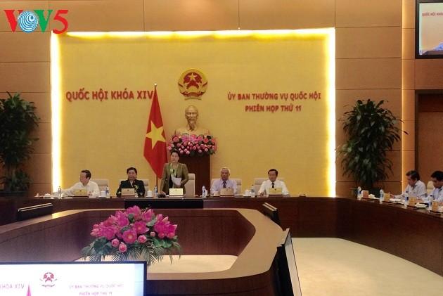 Sesionan XI reunión del Comité Permanente del Parlamento de Vietnam - ảnh 1