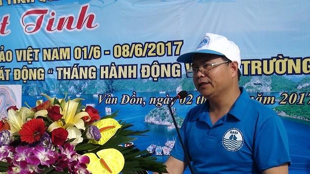 Quang Ninh responde a la Semana Nacional de Mar e Islas  - ảnh 1