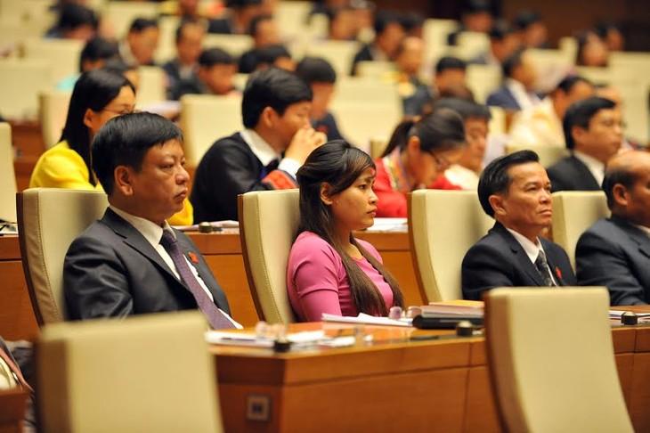Diputados vietnamitas preparan preguntas para interpelaciones a miembros del gobierno  - ảnh 1