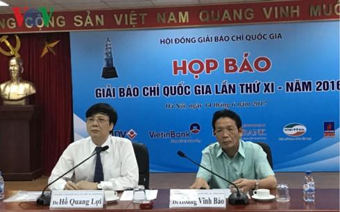Destacan las obras relevantes en el XI Concurso Nacional de Periodismo de Vietnam - ảnh 1