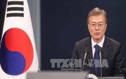 Presidente surcoreano espera reactivar negociaciones con Corea del Norte este año - ảnh 1