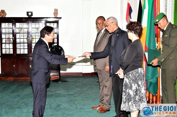 Guyana busca oportunidades de cooperación con Vietnam  - ảnh 1