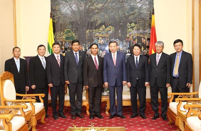Vietnam y Myanmar por una mayor cooperación en seguridad  - ảnh 1