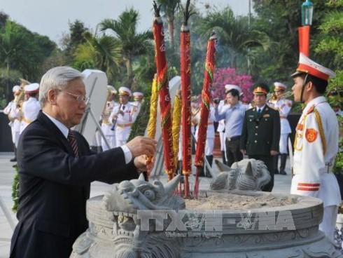 Continúan en Vietnam las actividades en honor a los Inválidos y Mártires de Guerra - ảnh 1