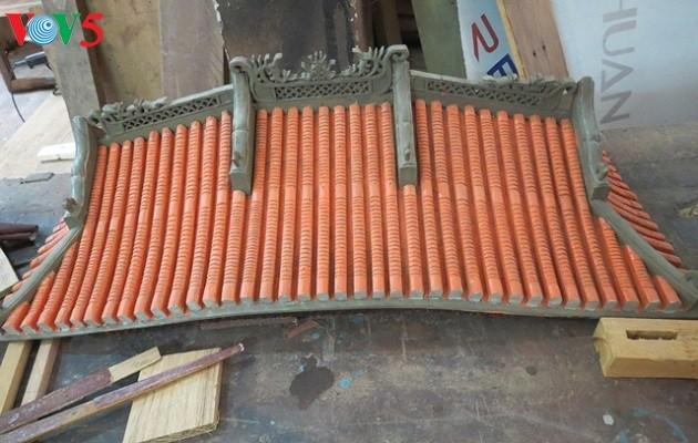 Huynh Ri, restaurador de obras arquitectónicas antiguas en Quang Nam - ảnh 2