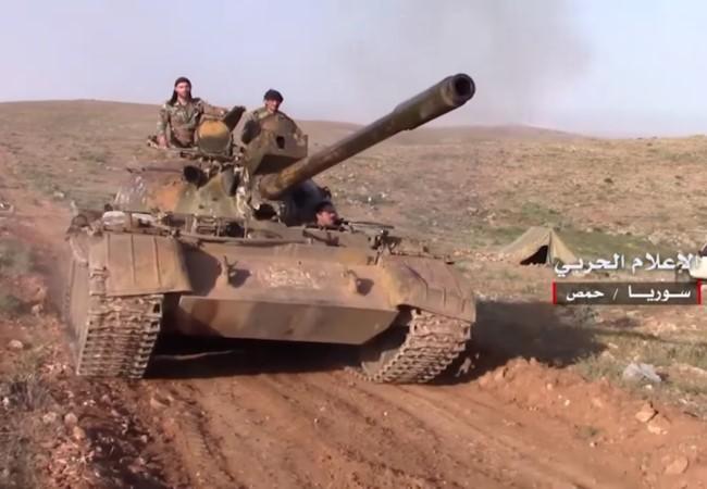 Tropas sirias toman el control de 2.000 kilómetros cuadrados de desierto en la región central - ảnh 1