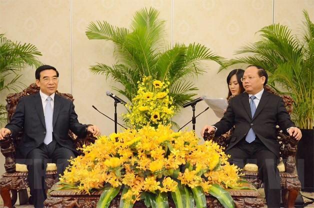 Ciudad Ho Chi Minh y China fomentan cooperación en la elaboración de políticas - ảnh 1