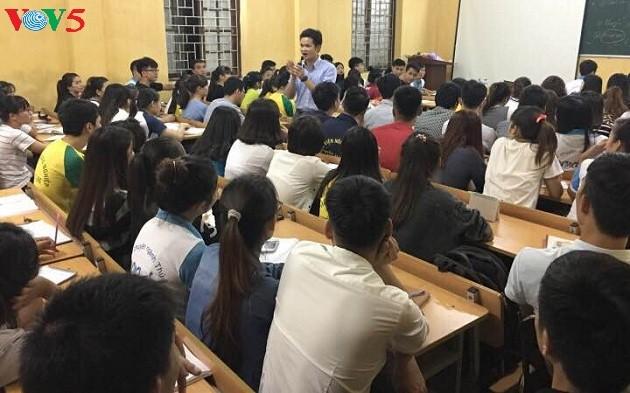 Nguyen Van Minh, un apasionado profesor - ảnh 1