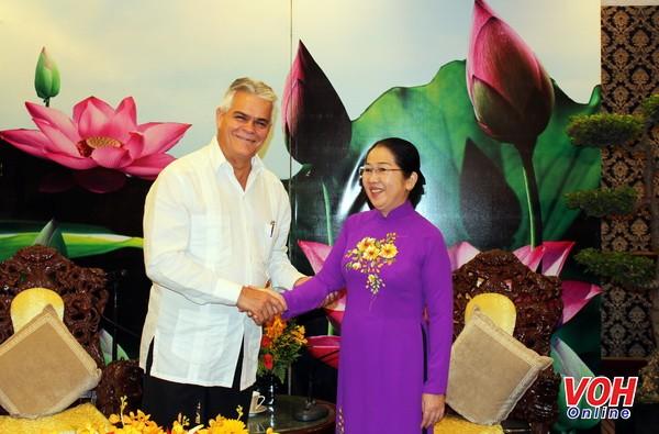 Ciudad Ho Chi Minh busca impulsar la cooperación con Cuba - ảnh 1