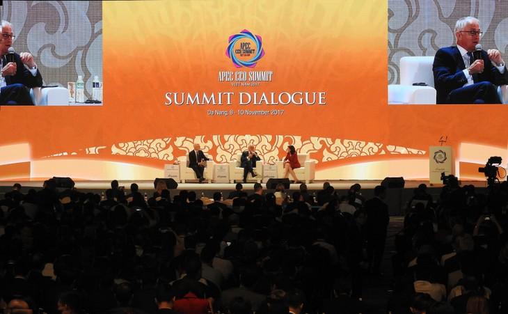 Concluye la Cumbre Empresarial del APEC 2017 - ảnh 1