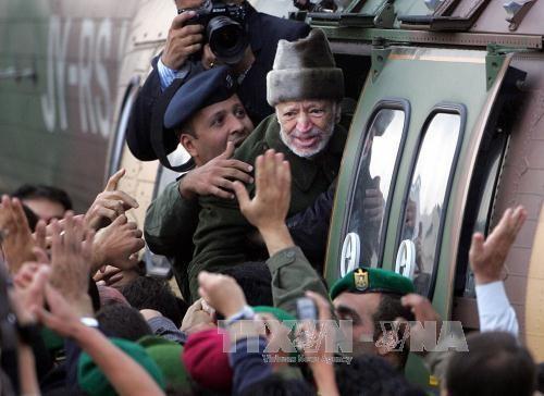 Palestinos conmemoran el XIII aniversario del fallecimiento del presidente Yasser Arafat - ảnh 1