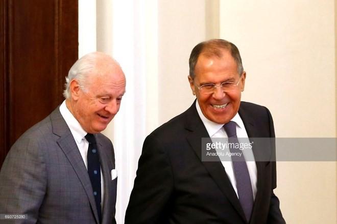 Rusia y la ONU acuerdan por unanimidad celebrar el Diálogo Nacional Sirio  - ảnh 1