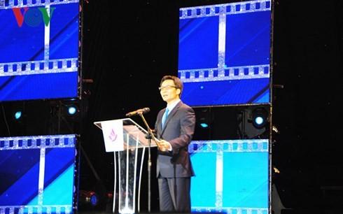 Inauguran el XX Festival Nacional de Cine de Vietnam 2017 - ảnh 1