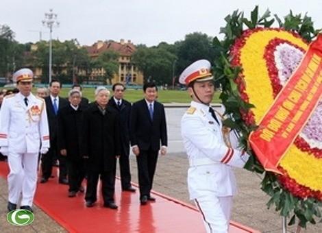 Feierlichkeit zum Gründungstag der KPVietnam - ảnh 1