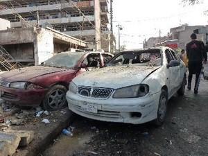 Mehrere Bombenanschläge im Irak - ảnh 1