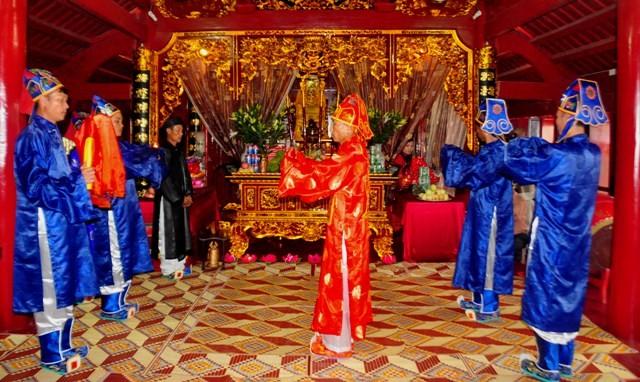 Das einzigartige Fest Thanh Mau der Minderheit der Muong - ảnh 1