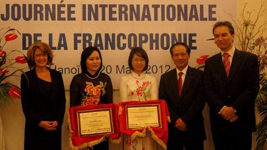Feier zum internationalen Tag der Frankophonie - ảnh 1